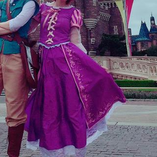 ディズニー(Disney)のラプンツェル コスプレ衣装一式(衣装一式)
