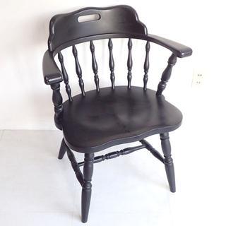 C263 アンティーク調 椅子 家具 いす イス ウッド チェア 木製(ダイニングチェア)
