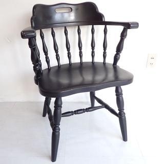 C264 アンティーク調 椅子 家具 いす イス ウッド チェア 木製(ダイニングチェア)
