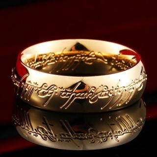ロードオブザリング ホビット The One Ring ゴールドコーティング(リング(指輪))
