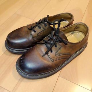 ドクターマーチン(Dr.Martens)のDr.Martens 3ホール ブラウン(ローファー/革靴)