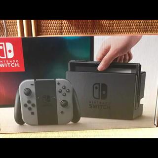ニンテンドースイッチ(Nintendo Switch)のニンテンドースイッチ 本体セット グレー(家庭用ゲーム本体)