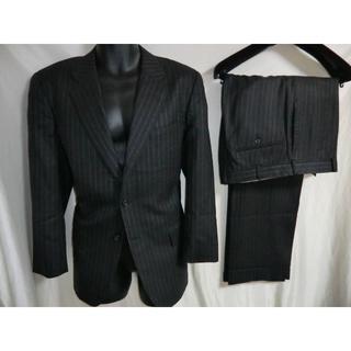 バレンシアガ(Balenciaga)の◇稀少◇バレンシアガ 3B スーツ Lサイズ相当 チャコールブラック ストライプ(セットアップ)