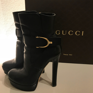 グッチ(Gucci)のGUCCI ショートブーツ(ブーツ)