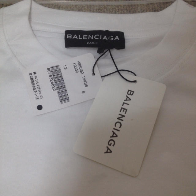 premium selection 71b78 f17fe 最終値下げ 新品未使用 国内正規 BALENCIAGA logoteeshirt