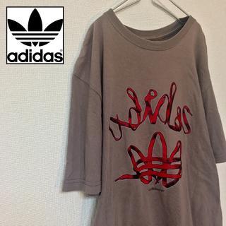 アディダス(adidas)の希少 アディダス adidas メンズ Tシャツ ホンジュラス 三つ葉 デカロゴ(Tシャツ/カットソー(半袖/袖なし))