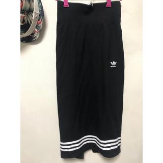 アディダス(adidas)のadidasスカート(ロングスカート)