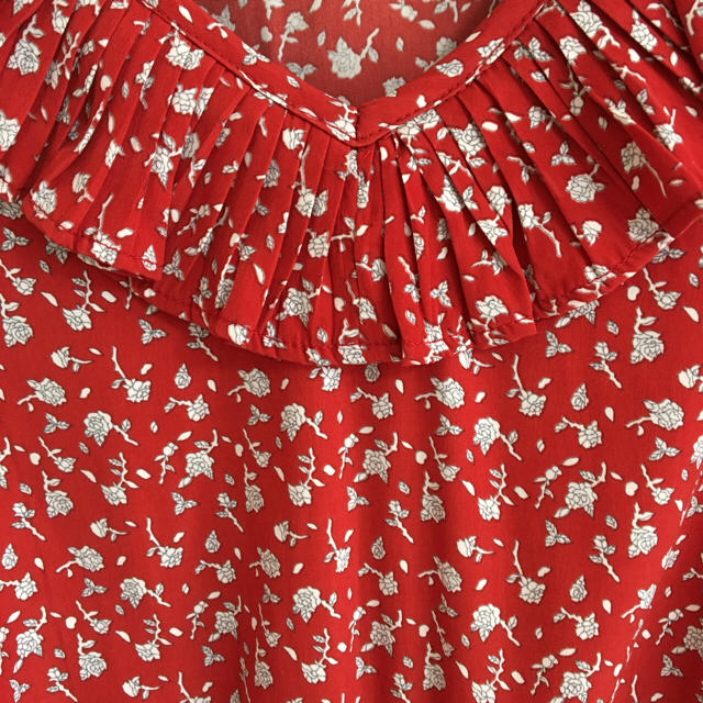 mystic(ミスティック)のmystic 花柄フリルワンピース レディースのワンピース(ひざ丈ワンピース)の商品写真