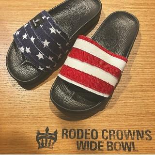 ロデオクラウンズワイドボウル(RODEO CROWNS WIDE BOWL)のあゆぁゅさま分 テラスモール湘南 獲得品(サンダル)