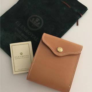 グレンロイヤル(GLENROYAL)の新品未使用 グレンロイヤル スライディングウォレット 二つ折り財布 最高級レザー(折り財布)