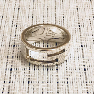 グッチ(Gucci)のグッチ 指輪 リング 美品 磨き済み 15号(リング(指輪))