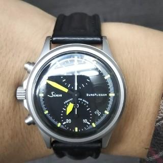 シン(SINN)のすー様専用 最終値下げ Sinn 356ユーロフリーガー 正規品 保証書あり(腕時計(アナログ))