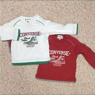 コンバース(CONVERSE)の80コンバース長袖Tシャツ 2枚セット(Tシャツ)