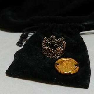 カオル(KAORU)のムーミン様専用・アトリエカオルkaoruティアラリングK10(リング(指輪))