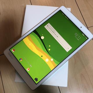 エルジーエレクトロニクス(LG Electronics)のQua tab PX LGT31 ホワイト(タブレット)