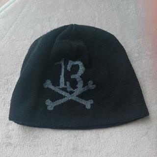 サバトサーティーン(SABBAT13)のSABBAT13 サバトサーティーン ニット帽 ブラック(ニット帽/ビーニー)