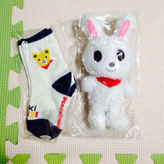 ミキハウス(mikihouse)のミキハウス靴下、人形セット(その他)