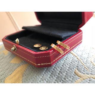 カルティエ(Cartier)の美品♡カルティエ ラブ ピアス(ピアス)