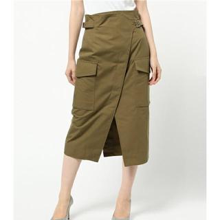 プラージュ(Plage)のJane Smith ラップ風スカート(ひざ丈スカート)