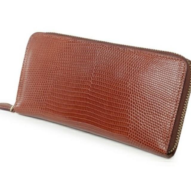 finest selection 8c992 59e2b GANZO LIZARD(リザード5) ラウンドファスナー 財布 | フリマアプリ ラクマ