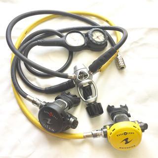 アクアラング(Aqua Lung)のアクアラングレギュレータ・コンソールセット(マリン/スイミング)