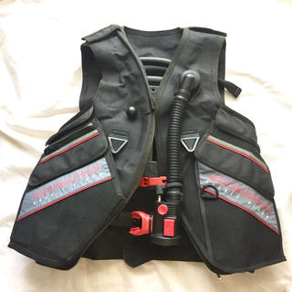 スキューバプロ(SCUBAPRO)のスキューバプロ ダブルブラックBCジャケット(マリン/スイミング)