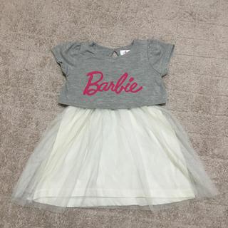 バービー(Barbie)のバービー ワンピース 90㎝(ワンピース)