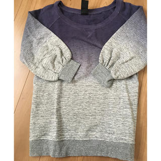 ダブルスタンダードクロージング(DOUBLE STANDARD CLOTHING)のチビちゃん様専用♡五分袖スウェット(トレーナー/スウェット)