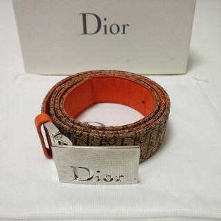 ディオール(Dior)のDior ディオール 高級ベルト リバーシブル イタリア製(ベルト)