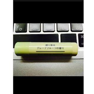 ムジルシリョウヒン(MUJI (無印良品))の無印良品 練り香水(スティックタイプ)グレープフルーツの香り(香水(女性用))