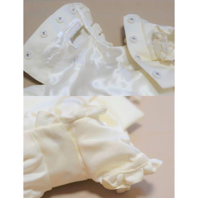職人が作る小型犬のウエディングドレス リングドックやわんちゃん自身の結婚式に♡  その他のペット用品(犬)の商品写真