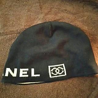 シャネル(CHANEL)のCHANELニット帽(ニット帽/ビーニー)