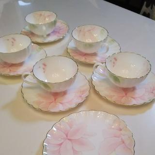 ニッコー(NIKKO)のお値下げ未使用ボーンチャイナ♡ティーカップ5客(食器)