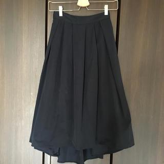 ジーユー(GU)のGU スカートひざ下Sサイズ 専用(ひざ丈スカート)