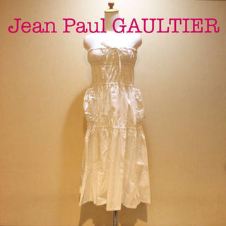 ジャンポールゴルチエ(Jean-Paul GAULTIER)のゴルチエ☆2Wayコットンドレス(ロングワンピース/マキシワンピース)