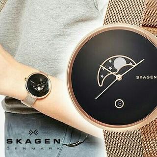 スカーゲン(SKAGEN)の★入手困難レア★ SKAGEN ローズゴールド✨ レディース(腕時計)