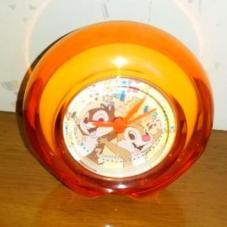 チップアンドデール(チップ&デール)のチップとデールのオレンジ時計(キャラクターグッズ)