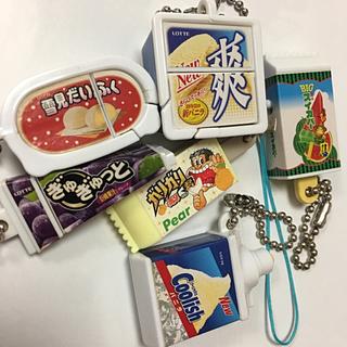 バンダイ(BANDAI)の【ミニチュア好きの方】ロッテ アイス キーチェーン(キーホルダー)