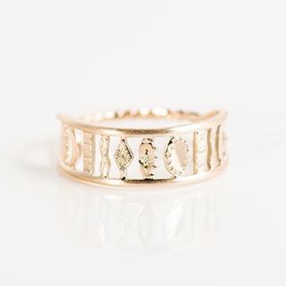 オーロラグラン(AURORA GRAN)のオーロラグラン ジーンリング(リング(指輪))