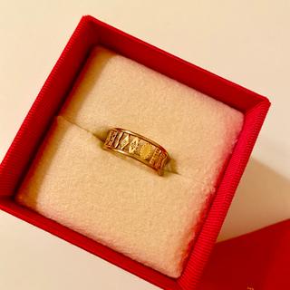 オーロラグラン(AURORA GRAN)のAURORA GRAN ジーンリング K10 ブラウンダイヤ(リング(指輪))