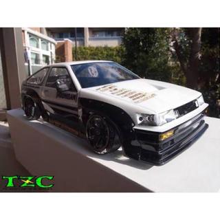 ヨコモ製 AE86 レビン レッド&ブラック アドバンカラー(ホビーラジコン)