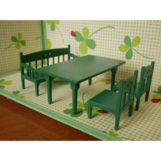 エポック(EPOCH)のシルバニアファミリー 家具 ダイニングテーブルセット(ぬいぐるみ/人形)