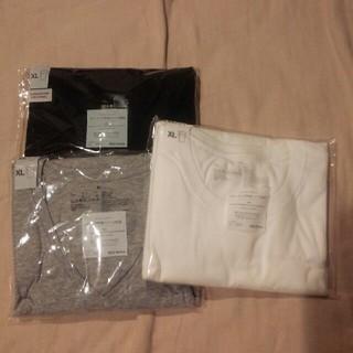 ムジルシリョウヒン(MUJI (無印良品))の【新品】無印良品 半袖TシャツXL6枚セット 送料無料(Tシャツ/カットソー(半袖/袖なし))