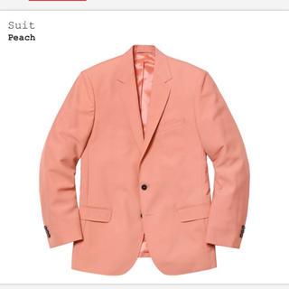 シュプリーム(Supreme)のKen様 supreme  スーツ suit Sサイズ peach(セットアップ)