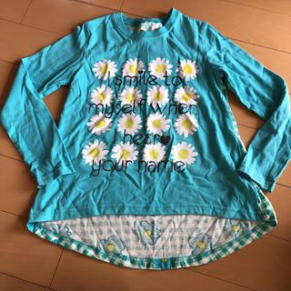シマムラ(しまむら)のアシメ切り替えロンT(Tシャツ/カットソー)