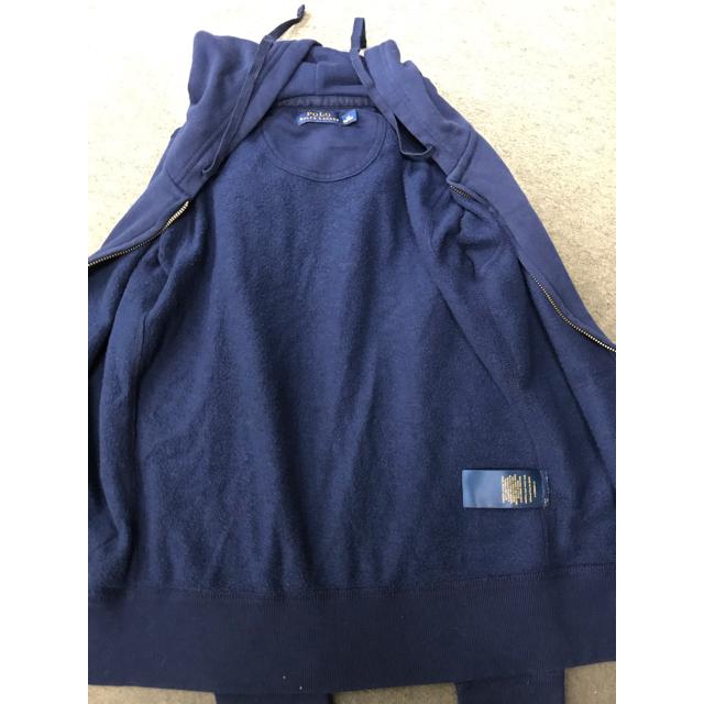 Ralph Lauren(ラルフローレン)の未使用 ラルフ・ローレンパーカー 濃紺 XS レディースのトップス(パーカー)の商品写真