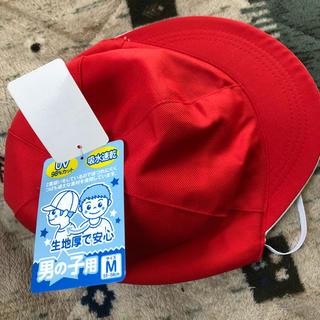 赤白帽子 新品未使用 M(帽子)