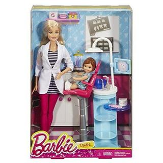バービー(Barbie)のバービー 歯医者さんセット(ぬいぐるみ)