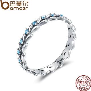 シルバー925   かわいいブルーリング(リング(指輪))