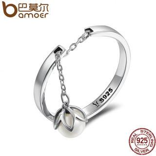 シルバー925   パール風リング   (リング(指輪))